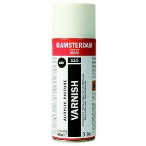 Details about Talens Acrylic Aerosol Spray Varnish (Oil & Acrylic  Paintings) 400ml - 115 Matt