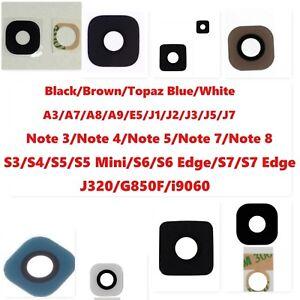 Camera Glass Lens for Samsung Galaxy A3 A8 E5 J1J2 J3 J5 S4 S5 S6 S7 S8 Note 4