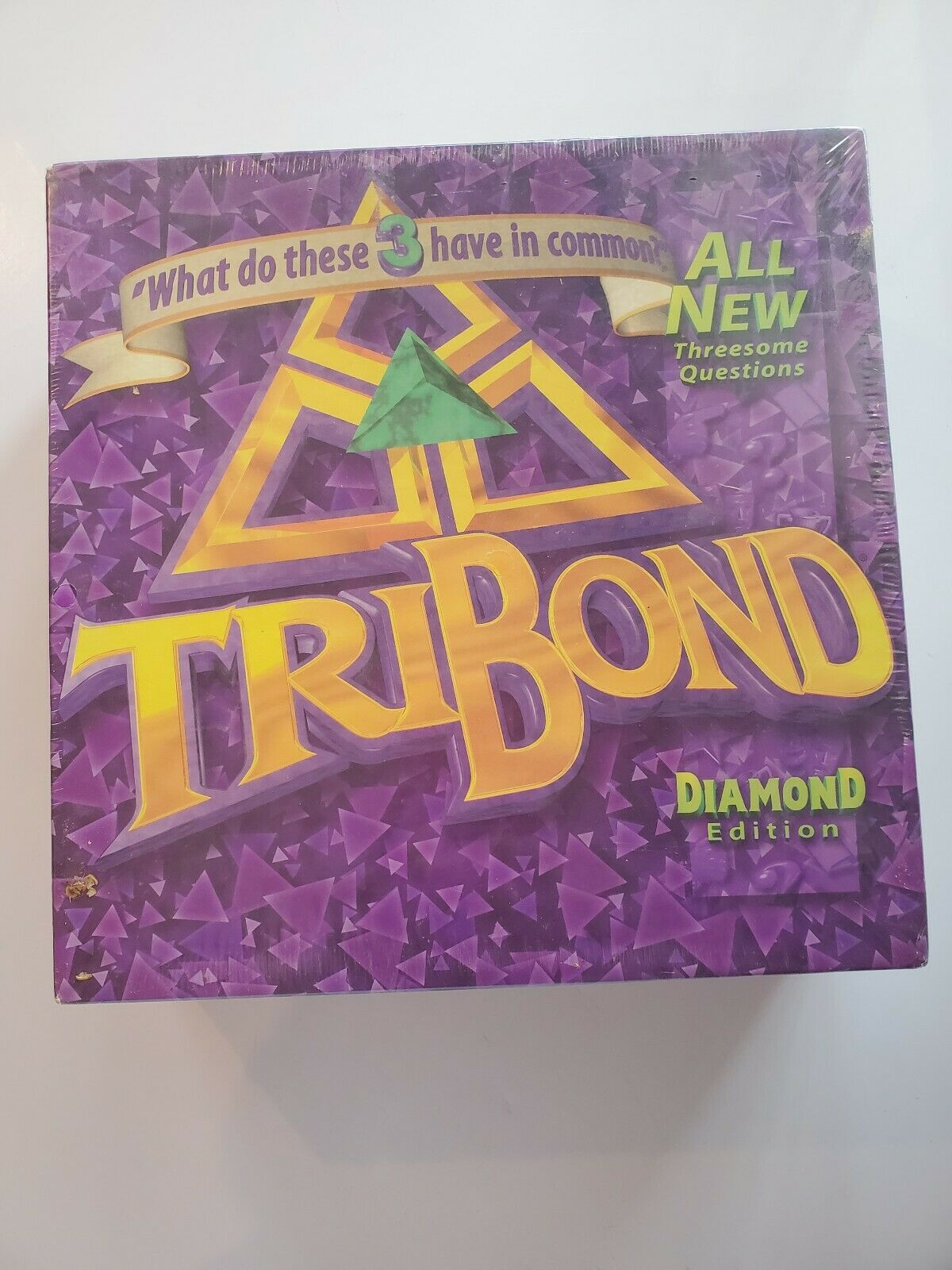 Tribond Diamond Edition Board Game 1998 3 questions new