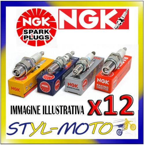 KIT 12 CANDELE NGK SPARK PLUG ZFR5F BMW 750 i E32 5.0 220 kW M70 B50 1990