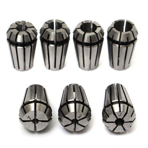 ER11 ER16 ER20 Spring Collet Set CNC Milling Lathe Chuck 1-7mm 1-10mm 1-13mm HL