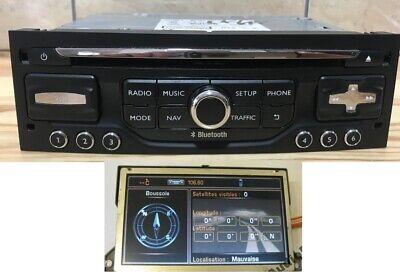 PEUGEOT 508 CENTRAL CONSOLE TRIM RADIO DISPLAY FRAME NAVI RNEG2 RT6 9686446277