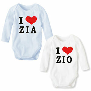 Body-Newborn-Baby-Romper-Long-Sleeve-I-Love-Uncle-Aunt-Toocool-XNO-205