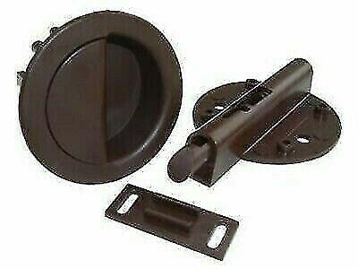 "JR Products 70315 2-1//2/"" Pocket Door Shur-Latch"