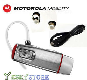 New Motorola Elite Flip Bluetooth Headset HZ720 HD Audio ...