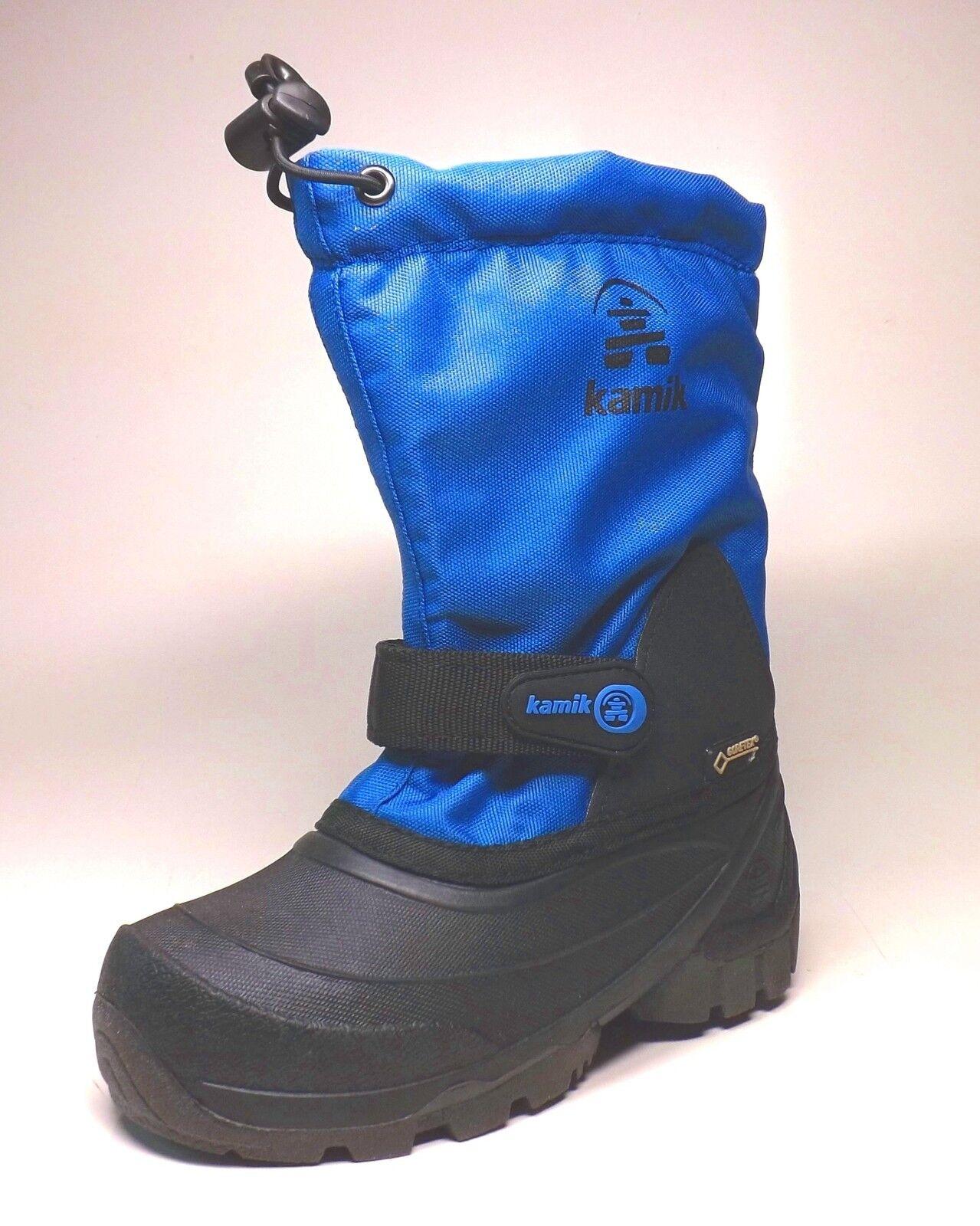 Kamik Waterbug 5G Kinder Winterstiefel Goretex  Blau  wasserdicht