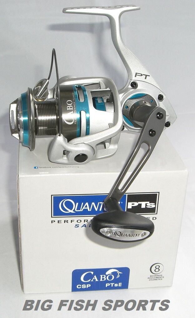 QUANTUM CABO PTs Spinning Reel  CSP40PTSE FREE USA SHIPPING   NEW  5.3 1 Ratio