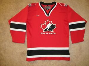 Image is loading Team-Canada-Olympic-Hockey-Jersey-Youth-XL-Nike d126e6d2f