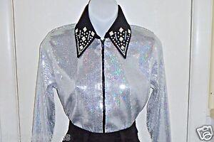 Queen Rodeo Pleasure Trail Girls Burgundy Sequin Western Rail Glamour Shirt