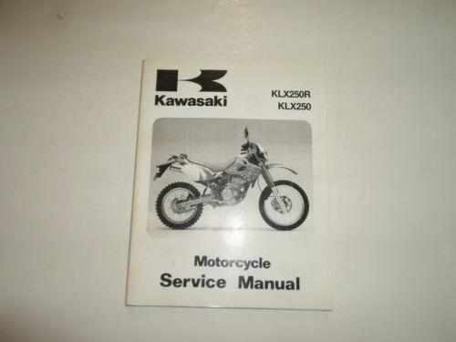 research.unir.net 1993 1996 Kawasaki KLX250R KLX250 Service Repair ...