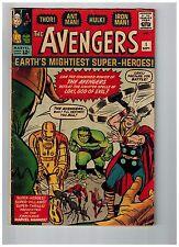 Avengers # 1 VG Marvel Comic Book 1st Appearance MASSIVE KEY Hulk Thor Wasp WT99