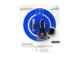 iSimple-Wireless-FM-Transmitter-Jamkast-USB-Black