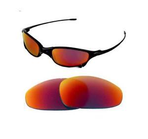 4250b8c69c La imagen se está cargando NUEVAS-POLARIZADAS-Solar-Rojo-Repuesto-Lentes- Para-Oakley-