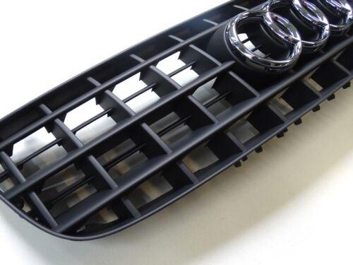 ORIGINALE Audi TT 8n facelift griglia anteriore front grill Nero Opaco 8n0853651e 3fz