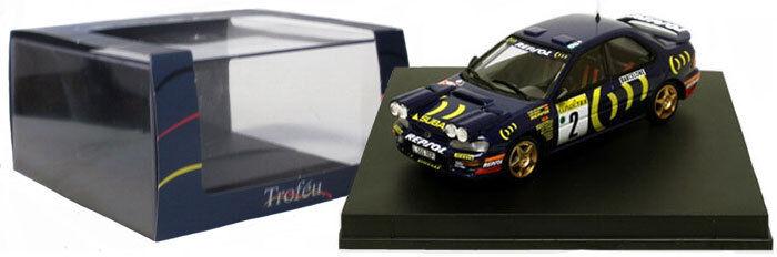 Trofeu 629 SUBARU IMPREZA 3rd Monte Carlo Rally 1994-C SAINZ SCALA 1/43