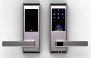 Fingerprint Turschloss Fingerabdruck Zugangskontrolle Zahlencode