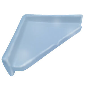 X Slate Blue Porcelain Corner Tile Shower Shelf Ceramic Bathroom - 8x8 slate tile