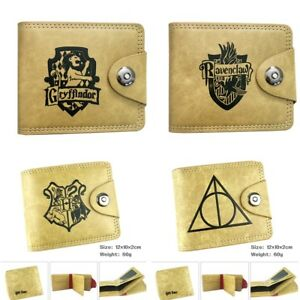 Harry-Potter-Wallet-Coin-Pocket-Case-Leather-pu-Purse-Men-039-s-Wallet