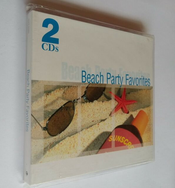 Beach Party Favorites by Various Artists (2-Disc, CD) Gift