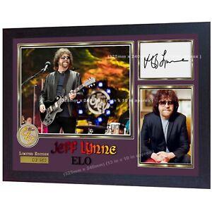 Jeff-Lynne-ELO-Music-signed-autographed-photo-print-Framed