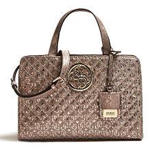 2c5cf8b9f760 GUESS Handbag Gioia Girlfriend Satchel Red for sale online