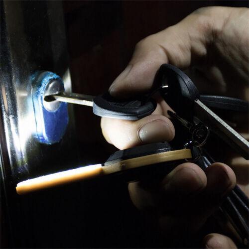 Cn /_ Mini Led Cob Acampada Linterna Ligero Llavero Llavero Linterna Graciou