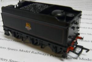 Bachmann-BM226-Hall-Class-Tender-BR-Lined-Black-Early-Emblem-OO-Gauge