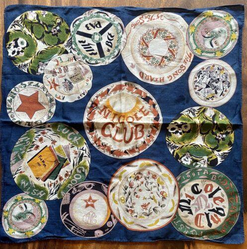 Vintage Matsuda/ Monsiour Nicole Handkerchief