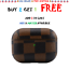 thumbnail 29 - Luxury New Leather AirPods Case Cover Protective Designs For AirPods Pro and 1/2