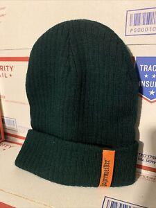 Jagermeister Promo Knit Green Beanie Hat Alcohol Liquor Winter