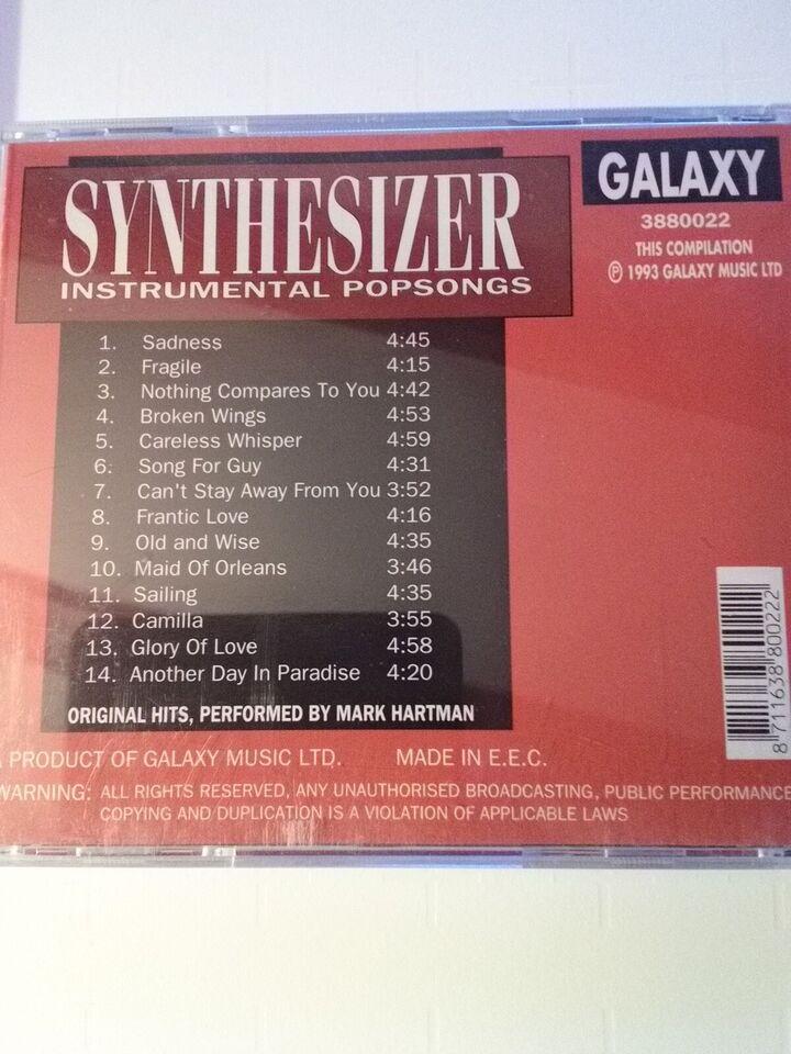 Mark Hartman: Synthesizer instrumental popsongs, andet