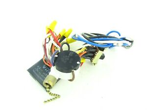 18 - Used Hampton Bay Ceiling Fan Wiring Harness with  Switches/Capacitor/Parts | eBayeBay