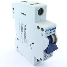 General Electric V37110 DIN Rail Circuit Breaker 1P 10 Amps 277//480VAC D Curve