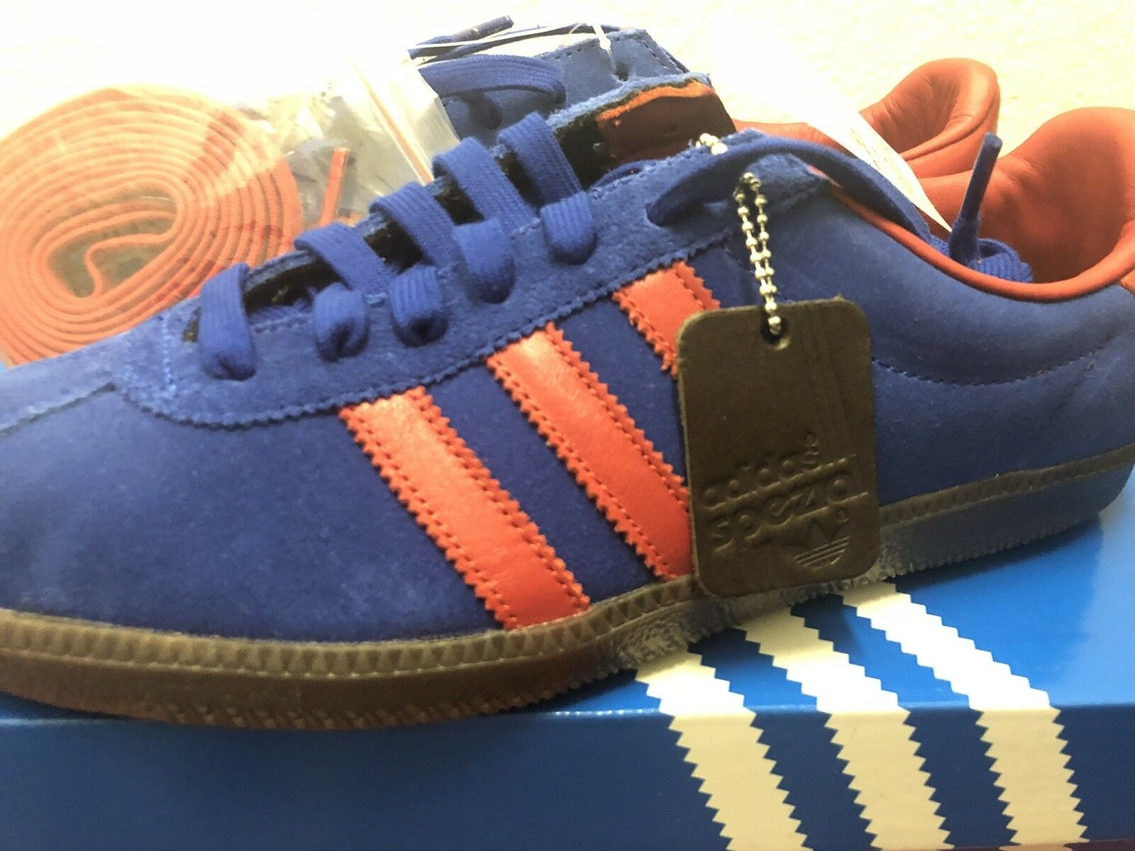 Adidas Spritus SPZL Spezial Men's Size 7 Royal bluee   Red Running shoes CG2922