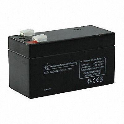 Rechargable 12V 1.3A Lead Acid Alarm Back Up Battery