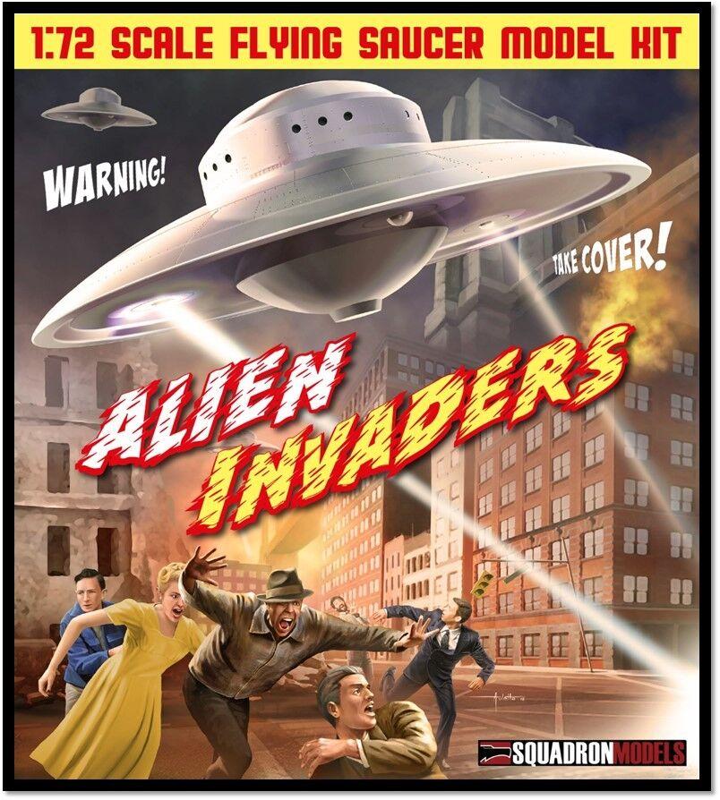 Squadron sqm0003 172 ALIENO UFO Flying Saucer