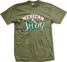 Mexican Swag Mexico Pride Flag Colors National Style Team Men/'s V-Neck T-Shirt