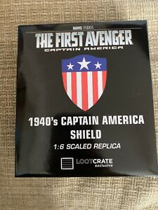 New Marvel Captain America The First Avenger 1940/'s Shield 1:6 Scale Official