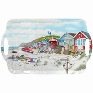Large-Melamine-Tray-SANDY-BAY-2020-Serving-Sandwich-Snacks-Nautical-Sea-Beach