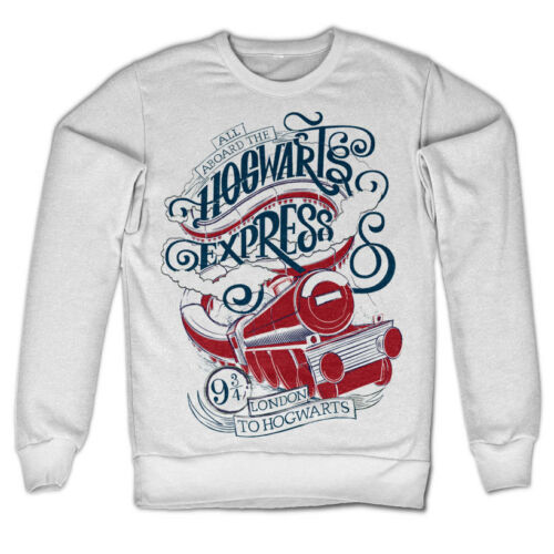 Officially Licensed All Aboard The Hogwarts Express Sweatshirt S-XXL Sizes