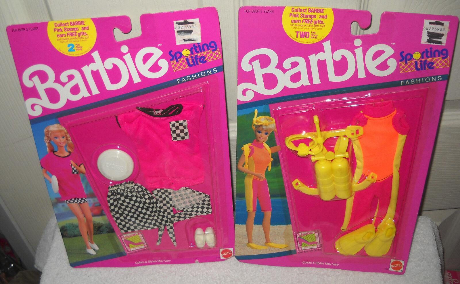 Nrfc Mattel 2 Sporting Life Barbie Fashions