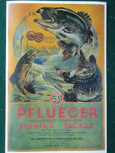 Pflueger-Fishing-Tackle-1917-Advertising-Poster-Akron-Ohio