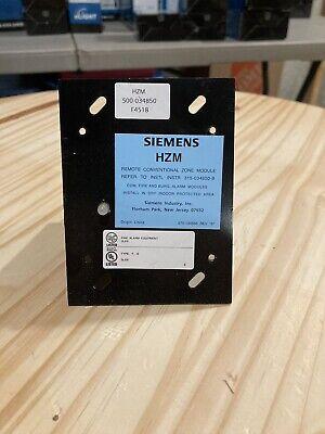 Siemens Hzm Conventional Zone Module 500-034850 FIRE ALARM