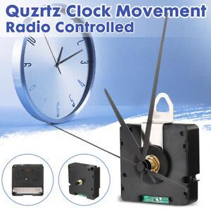 DCF-Funk-Uhrwerk-Quarzuhr-3-Zeigersaetzen-Quarzuhrwerk-Geraeuschlos-Auto-Deutsche