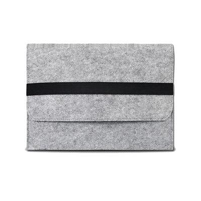 Wool Felt Belt Sleeve Bag Case For MacBook Air Pro Dell HP ASUS Ultrabook Tablet