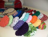 Party Pack Of 10 Hand Crocheted Nose Warmer 100% Cotton Party Favors Cold Nose