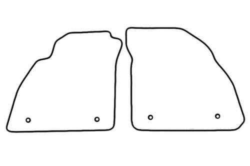 Alfombras tapices de opel insignia 2 pzas 4 tornillos calidad original gamuza ALFOMBRILLAS COCHE