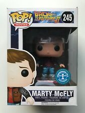 Back To The Future Marty McFly On Hoverboard Funko Pop Vinyl #245 ZBOX EXCLUSIVE