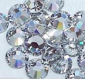 3mm JOB LOT 720 PIECES Excellent Quality Hot Fix Crystal Clear HOTFIX