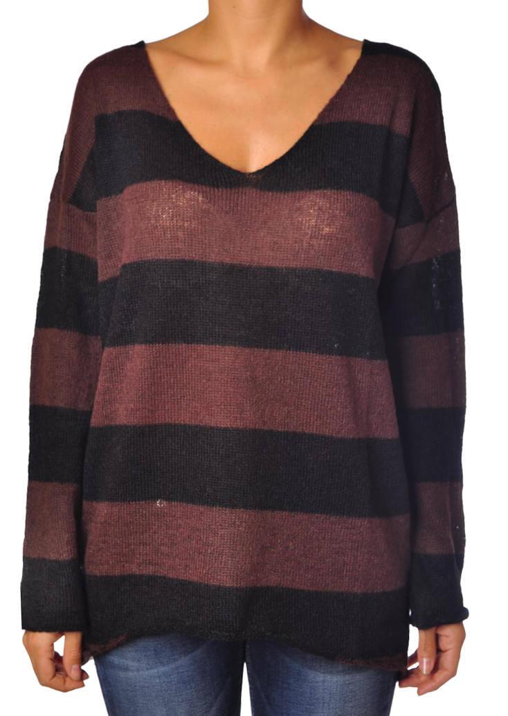 Soallure - Knitwear-Sweaters - woman - schwarz - 706417C184206